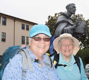 Left to right: Sr. Mary Susanna Vasquez and Sr. Francis Clare Fischer.