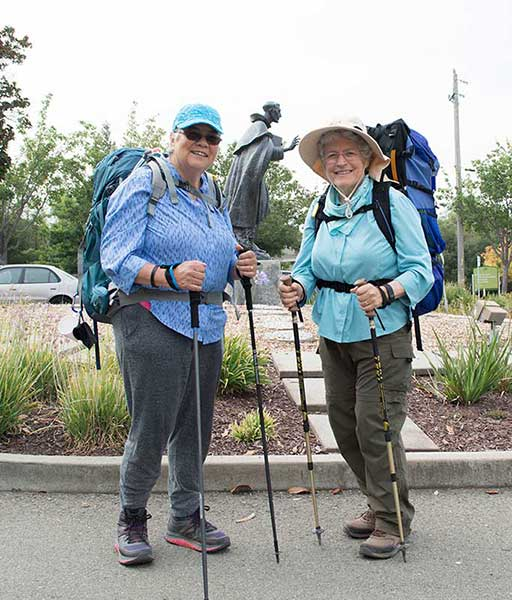 Photo of the Week:  Dominican Sisters of Mission San Jose Walking the Camino de Santiago