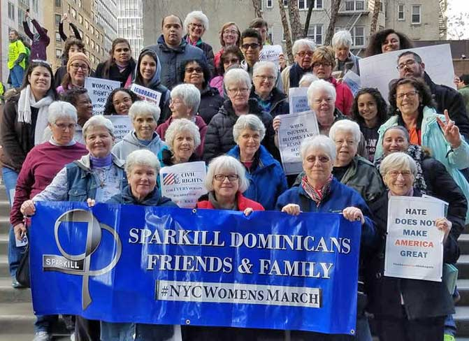 Photo of the Week: Dominican Sisters of Sparkill – Women's March in NYC