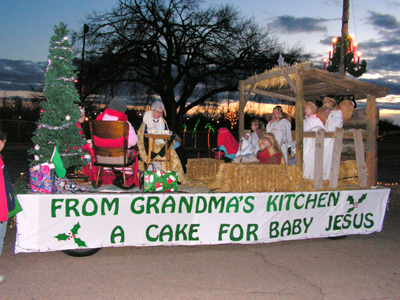 Dominican sisters win trophy for their holiday parade message for Princess float ideas