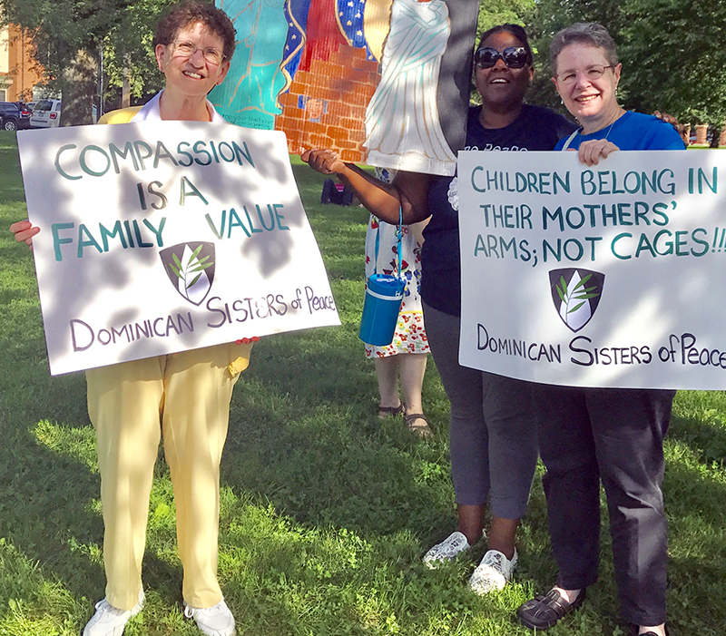 Dominican Sisters of Peace Stand with Immigrants #2